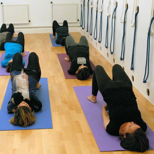 Yoga Now class